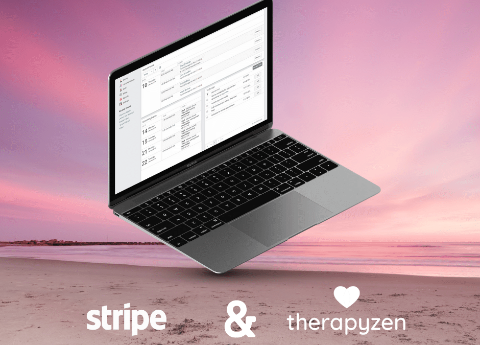 Get paid faster with Stripe and Therapyzen!