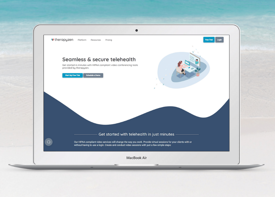 Custom Client Portal Forms and 3rd Party Telehealth in Therapyzen